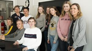 Eleverna från partnerskolorna kommer också att besöka Hudiksvall och MTH-skolan i maj 2020.