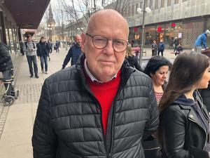"""Örjan Urve, 77, pensionär, från Blombacka: """"Blandat godis är bäst – vi ger barnbarnen påskägg med godis och har jag tur så får jag ett själv."""""""