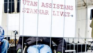 Rasmus Isaksson, förbundsordförande, DHR anser att allt för mycket fokus hamnat på bidragsfusk när det gäller assistanser och för lite pekar på den ökade friheten systemet innebär för den enskilde. Foto: Janerik Henriksson