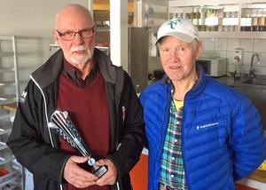 Ove Karlsson och Olle Lind i klassen HS70. Foto: Larissa Karlsson.
