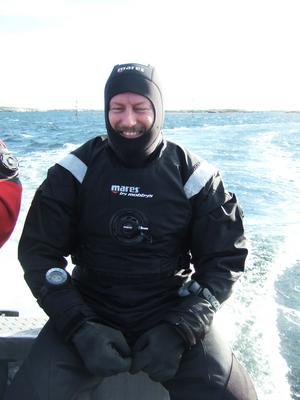 Lennart Bergs favoritställe att dyka på i Sverige  är Väderöarna på västkusten med Dyk-Leif.