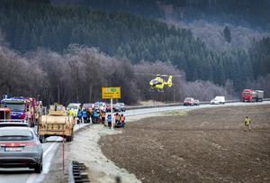 Norska och amerikanska soldater övade i Orkanger, Trondelag, Norge, under Trident Juncture. Foto: Gorm Kallestad.