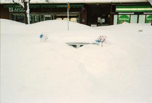 Bilägare uppmanades att märka sina parkerade bilar med något.