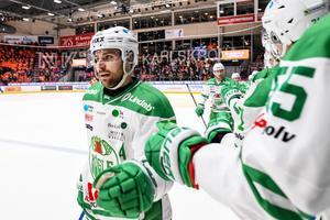 Ludvig Rensfeldt ser fram emot att spela i Timrå den kommande säsongen.  Foto: Magnus Lejhall / BILDBYRÅN