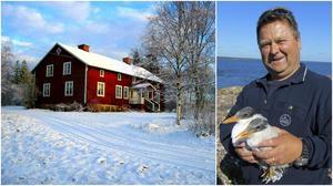 Vandrarhemmet vid Riddersholm och Leif Malmgren.