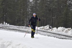 Anna Dyvik valde Idre och sparad snö före hög höjd i Italien.