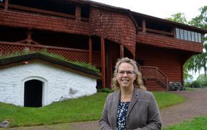 Ornässtugans verksamhetschef Åsa Ehlis kan notera en uppgång i besök när halva sommarsäsongen är avverkad.