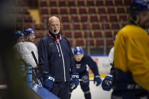 Roger Melin är hoppfull inför Leksands första match i Slutspelsserien borta mot Västerås.