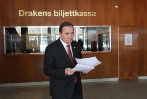 Dags för statsminister Stefan Löfven att rymma från regeringsdaten med Miljöpartiet? Foto: Frida Winter / TT