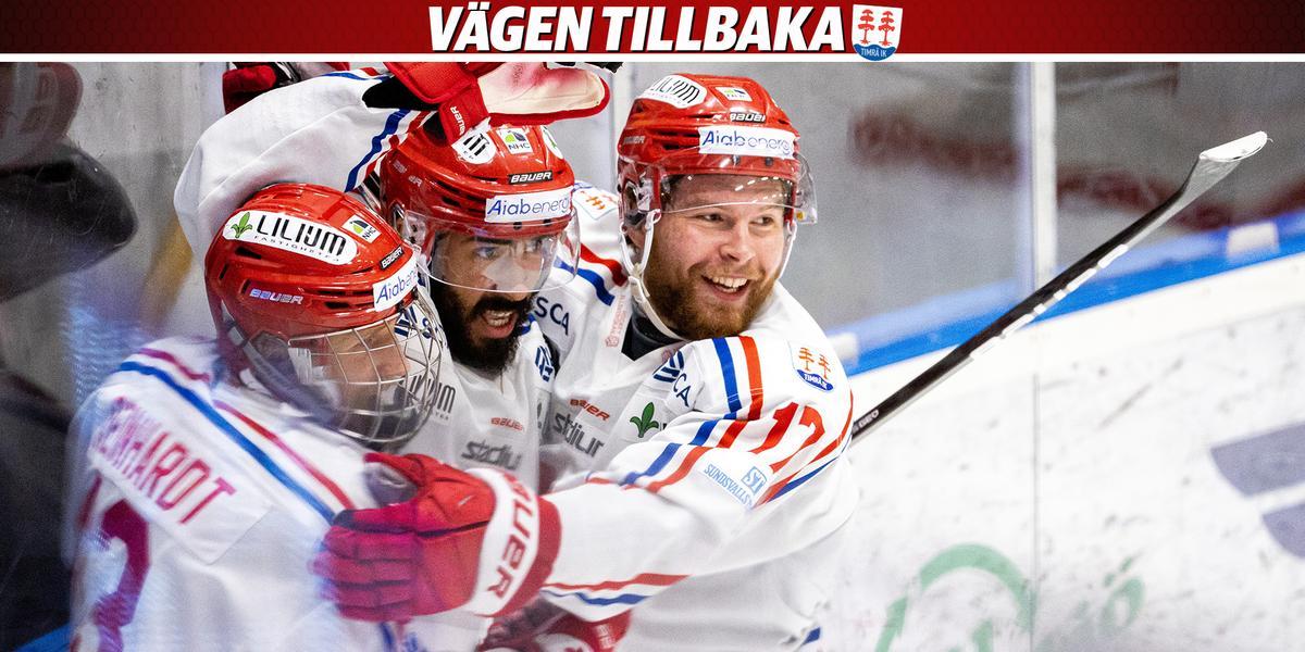 Timrå IK tog viktig bortaseger efter starkt spel – så var matchen mot Löven minut för minut