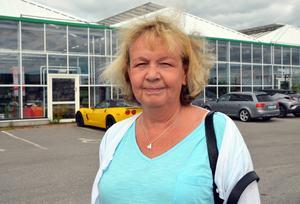 Lena Olsson, 65, pensionär, Söråker: