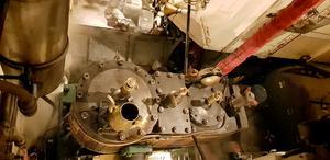 Motorn är tillverkad i Göteborg och har hållit i 139 år.