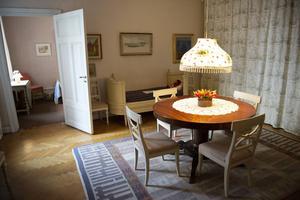 Matsalen i Astrid Lindgrens lägenhet på Dalagatan, som nu öppnar för allmänheten.