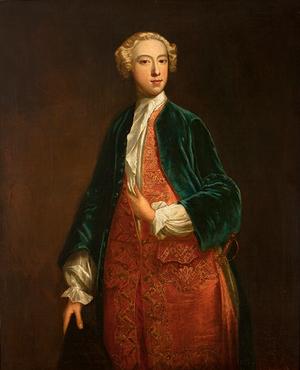 Horace Walpole 1735. Målning av Jonathan Richardson.