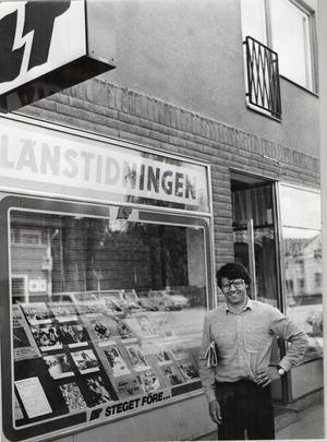 Lokalredaktion modell 1980. Foto:  Privat