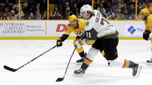 William Karlsson gick Hockeygymnasiet i Västerås och slog igenom i Gulsvarts A-lag innan han via HV 71 i dag är en stjärna i NHL-klubben Las Vegas Golden Knights med enorma 39 mål den här säsongen.