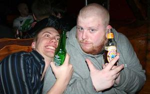 Konrad. Johan och Kenny Starfighter