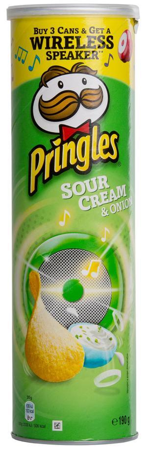 Pringles Sourcream & onion