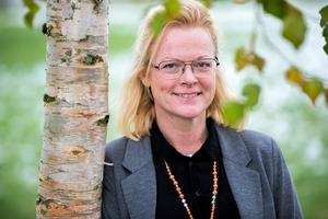Suzanne Bäckman arbetar på Närljus, Ljusdals kommuns näringslivsenhet.