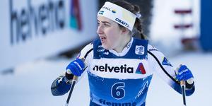 Ebba Andersson är tillbaka i landslaget igen och nu får hon sällskap av brorsan Fredrik. Foto: Terje Pedersen / NTB scanpix