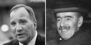 Är Stefan Löfven Sveriges Neville Chamberlain?, frågar insändarskribenten Demokrativän. Foto: TT