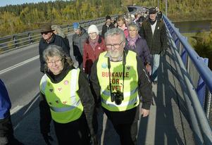 Manifestation för sjukhuset i Sollefteå