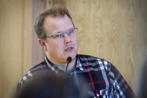 Fredrik Skoglund (S), miljö- och byggnämndens ordförande.