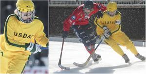 Elias Swartswe och Marcus Öhman är två ur Ljusdals unga garde som ska försöka göra skillnad på allsvensk nivå i vinter.