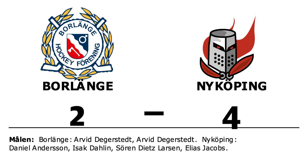 Arvid Degerstedt och Arvid Degerstedt målskyttar när Borlänge förlorade