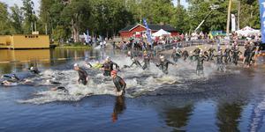Starten på sprinten i årets Sala Silverman.
