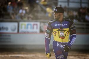 Antonio Lindbäck visade upp en bra åkning borta mot Rospiggarna. Det hjälpte inte eftersom Masarna ändå förlorade.