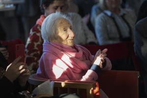 Hédi Fried överlevde Förintelsen. Foto: Naina Helen Jåma/TT