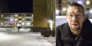 Jan Holmgren som bor i Strömsund säger att det gick många rykten i samhället efter tillslagen i våras.