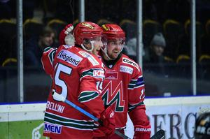 Magnus Häggström gjorde sitt första mål för säsongen när han avgjorde mot Tingsryd.