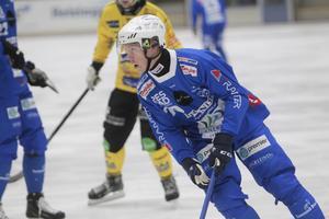 Robin Lundqvist – en drivande spelare när Vänersborg drar hem för att säkra en plats i kvarten mot Västerås.