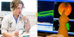Köerna på ögonkliniken i Region Västernorrland har successivt ökat de senaste åren och tillhör nu de längsta i landet.