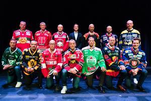 14 huvudtränare, redo för säsongen. Foto: Andreas L Eriksson / Bildbyrån