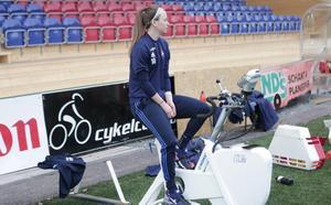 Onsdagens träning fick Chestley Ashley-Strother följa från träningscykeln.