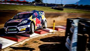 Oliver Eriksson vann deltävlingen i Sydafrika och säkrade samtidigt VM-titeln i klassen RX2. Foto: RX2