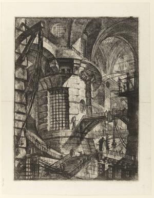 Tredje gravyren i Giovanni Battista Piranesis serie