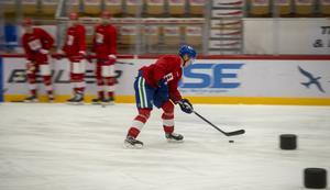 Elias Pettersson tycker att det var en bra träning.