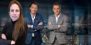 Sofia Gustafsson kritisk till hur programledarna Ekdal sköter SVT:s nya satsning på ett samhällsprogram. Foto: Foto: Johan Paulin /SVT (bilden är ett montage).