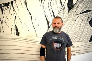 Roger Metto bor i Stockholm, men kommer från Kiruna.