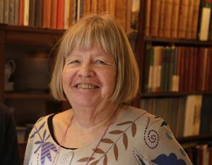 """""""Det märks att skrivlusten finns"""" säger Ami Lönnroth."""