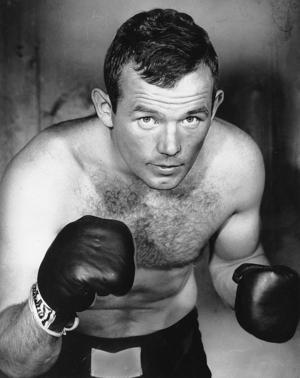 Boxaren Ingemar Johansson på en bild från 1959. Foto: TT