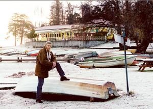 Vinterbilden 2000. Årets modell: Ulf Eneroth. Medeltemperatur: -1,4. Nederbörd: 129,22. Foto: Conny Sillén.