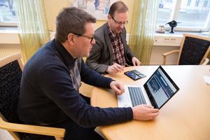 Nu ska Ludvika månne bli en modern kommun. Leif Pettersson (S) och Håge Persson (M) ser fram emot att kunna erbjuda allmänheten webbsändningar från mötena med kommunfullmäktige.