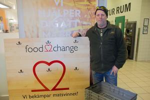 Roine Larsson är ambassadör för Food2change i Avesta.