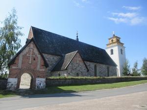 I Gammelstad finns Norrlands största medeltida kyrka.