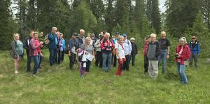 SPF Älvdalen har rest på det det vidsträckta skjutfältsområdet i Älvdalen och besökt flera av de gamla fäbodar som finns där.